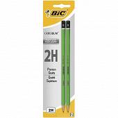 Bic 2 crayons critérium 2h