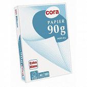 Cora ramette 500 feuilles 21x29.7 cm  jet d'encre 90 grammes