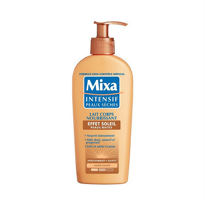 Mixa Mixa lait corps nourrissant peaux mates éclat soleil 250ml
