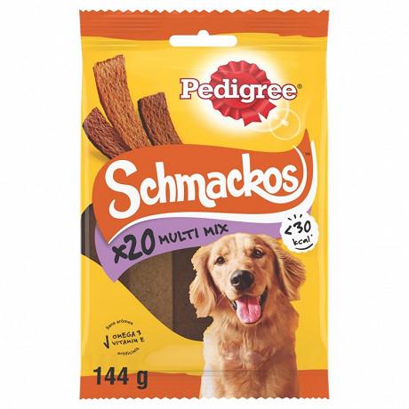 Pedigree schmackos récompenses multi pour chien 20 pcs