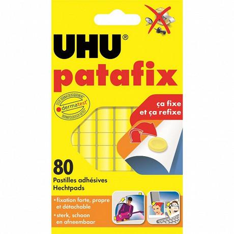 Uhu - Patafix jaune 80 pastilles