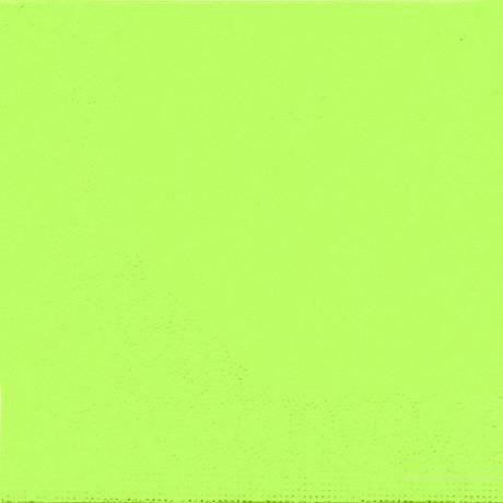 Cora serviettes x50 vert granny 33x33cm 2 plis