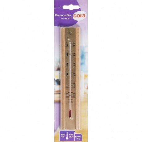 Cora thermomètre de luxe en bois
