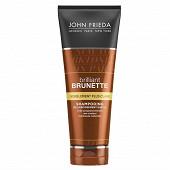 John frieda brilliant brunette shampooing visiblement plus clair 250ml