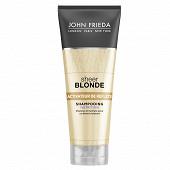 John frieda sheer blonde shampooing nutrition activateur de reflets 250ml