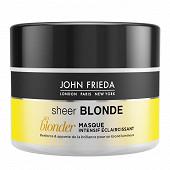 John frieda sheer blonde masque intensif eclaircissant go blonder 250ml
