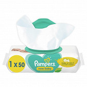 Pampers lingettes new baby sensitive x50