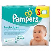 Pampers lingettes bébé freshclean 3X64