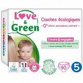 Love & green couches écologiques T5 x40
