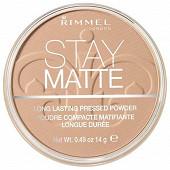 Rimmel NU poudre compacte stay matte peach glow 003 14g