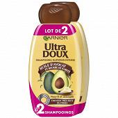 Ultra doux shampooing avocat / karite 2x250ml