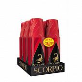 Scorpio deodorant rouge l4+2of