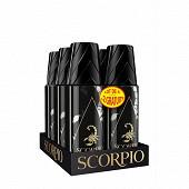 Scorpio deodorant noir abs l4+2of
