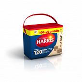 Harris baril de 120 cubes allume feux naturels dont 20 offerts