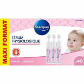 Steripan sérum physiologique 40x5ml