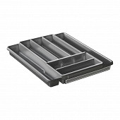 Range couvert extensible anthracite