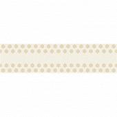Paper+design chemin de table starry white/gold 25x400cm