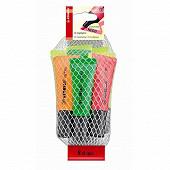 Stabilo - Filet de 8 surligneurs néon coloris assortis
