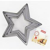 Fackelmann emporte pieces étoiles x5