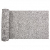 Chemin de table 28x400cm en lin gris uni