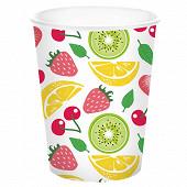 Mesa bella gobelet x10 tuti frutti 25cl en carton