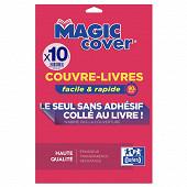 Oxford 10 couvres livre magic cover pvc 90/100 lisse inol