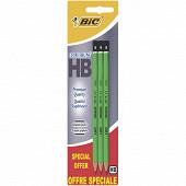 Bic crayon graphite criterium 550 HB x 3