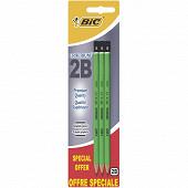 Bic crayon graphite criterium 550 2B x 3