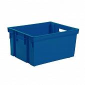 EDA Bac de rangement 20l - bleu mineral