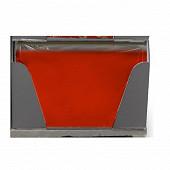 Cora nappe pliée rouge 1.40x2.20m