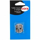 Cora - Taille crayon métal 2 trous