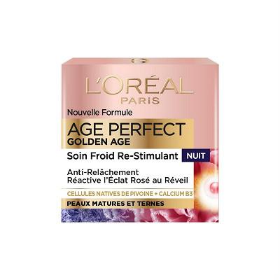L'Oréal Dermo age perfect soin visage golden age nuit 50ML