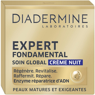 Diadermine Diadermine crème anti-âge expert fondamental nuit pot 50ml