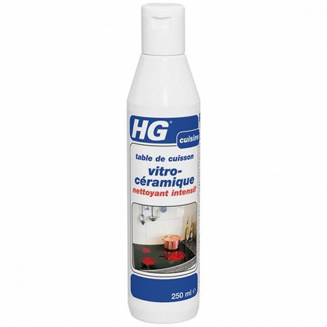 HG nettoyant vitro-céramique intensif 250ml