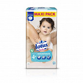 Lotus baby couhes taille 4+ maxi pack x 60