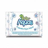 Kandoo lingettes multi-usage aquas 99% eau x50