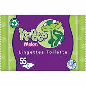 Kandoo 55 lingettes melon