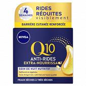 Nivea visage QI0 soin de nuit peau sèche 50ml