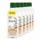 Timotei shampooing nutrition & légèreté cheveux normaux 6x300 ml