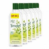Timotei shampoing pure aux extraits de thé vert 6x300 ml