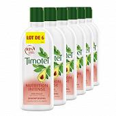 Timotei shampooing nutrition intense à l'huile d'avocat 6x300ml