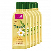 Timotei shampooing blond lumière 300ml x6 - 3+3 offerts