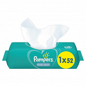 Pampers lingettes freshclean x52