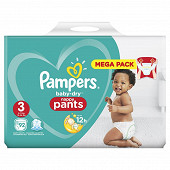 Pampers baby dry pants mega t3 x92