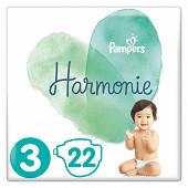Pampers harmonie paquet t3 x22