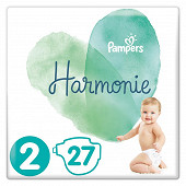 Pampers harmonie t2 paquet x27