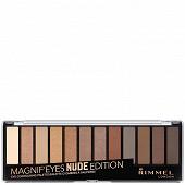 Rimmel oap palette magnieyes 12 pan 001 nude edition