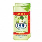 Dop shampooing 400 ml pomme verte lot de deux reno17