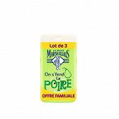 Le Petit Marseillais douche extra doux bonheur poire 3x250ml offre familiale