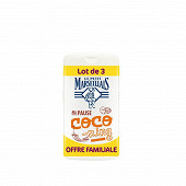 Le Petit Marseillais douche extra doux bonheur coco 3x250ml offre familiale